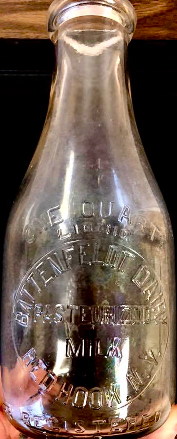 """Battenfelt"" Dairy Bottle"